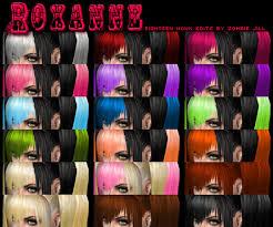 Mod The Sims - Roxanne - 18 Nouk Edits by Zombie Jill