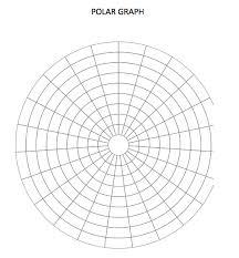 Polar Graph Paper Template
