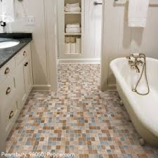 bathroom vinyl flooring. Bathrooms Flooring Idea : Simplicity, Pennsbury By Mannington Vinyl Bathroom L