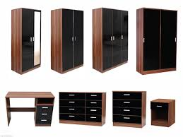 Solid Walnut Bedroom Furniture Walnut Bedroom Furniture Ebay