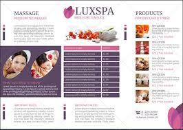 Medical Brochure Template Gorgeous Med Spa Brochure Template Rockytopridge