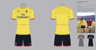 Refine your search for ac milan jersey nwt. Puma Ac Milan 18 19 Home Away Third Concept Kits By Marco Negrin Footy Headlines