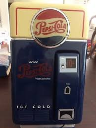 Pepsi Cola Vending Machines Old Awesome VINTAGE PEPSICOLA VENDING Machine Telephone New Tested