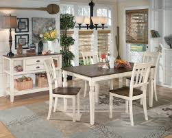 signature design by ashley whitesburg 7 piece rectangular dining table set wayside furniture dining 7 or more piece sets