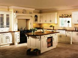 attractive counter on amusing floortile in cool kitchen design with pastel wall paint closed white country