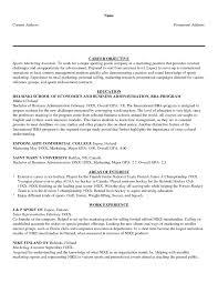 Career Objective For Resume Sample Resume Marketing Internship Objectives Fresh Resume Career 66