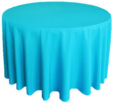 90 heavy duty 200 gsm round polyester tablecloths 20 colors