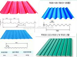 colour coil galvanized steel sheet corrugated metal roofing sheets as metal roof installation