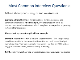 Colorful Interviews Questions What Are Your Weaknesses Ideas