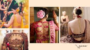 Backless Design Sexy Backless Blouses Designs For Brides Bridesmaid Must