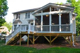 Image of: Screen Porch Designs from Back Yard
