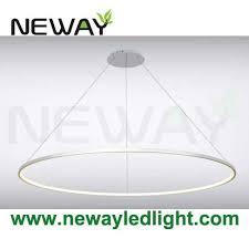 round pendant lighting. 800mm 600mm 400mm Round Circle Decorative Lighting LED Pendant Light