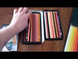 Colored Pencils Prismacolor Portrait Tin And Faber Castell 36 Color Tin