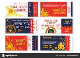 Carnival Birthday Invitations Circus Theme Birthday Invitation Circus Ticket Carnival