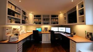 custom built desks home office. home offices are often more comfortable to work in than fluorescent cubicles todayu0027s featured workspace with its custombuilt cabinets and roomspanning custom built desks office c