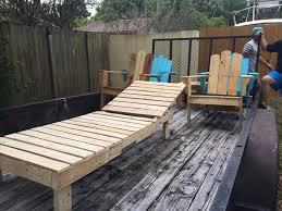 outdoor pallet wood. Outdoor Pallet Lounger Wood C