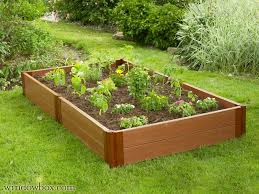 composite raised garden bed. Plain Bed With Composite Raised Garden Bed F