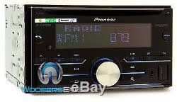 pioneer fh x730bs. pioneer fh-x730bs 2-din cd mp3 usb stereo bluetooth ipod equalizer car fh x730bs d