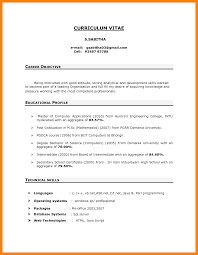 What Is My Career Objective 24 Career Objective In Cv Catering Resume 8