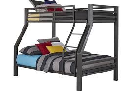 Xander Gray Twin/Full Bunk Bed
