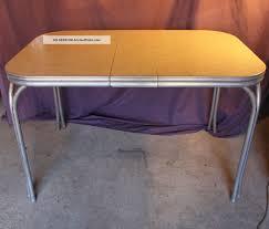 Retro Metal Kitchen Table Chrome Kitchen Table Exterior Retro Metal Kitchen Table Sets Ebay
