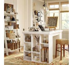 craft room ideas bedford collection. Bedford Project Table Set, Antique White | Pottery Barn With Craft Room Ideas Collection S