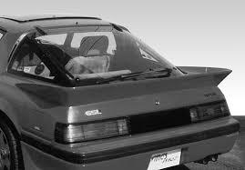 mazda rx7 1985 black. 19791985 mazda rx7 big racing imsa tail spoiler 1985 black
