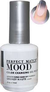 Lechat Perfect Match Gel Polish Mood Color Smokey Haute