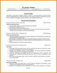 Dental Assistant Resume Objective For Objectives Sle Assisting