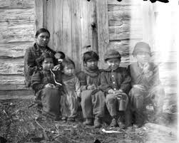 Myrna Lowe and Children | Photograph | Wisconsin Historical Society |  Native american peoples, Indigenous culture, Historical society