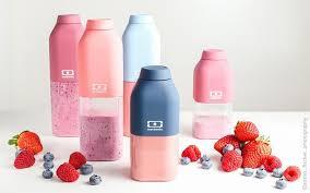 Monbento Positive S Water Bottle Small 33cl PINK BLUSH – minimini kids