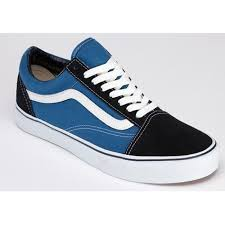 vans shoes black and blue. vans old skool suede black blue canvas shoes mens sneakers womens larger image and o