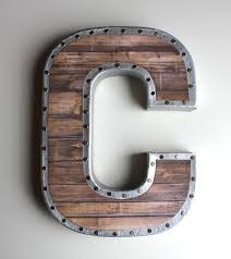 metal wall letters letter wall decor