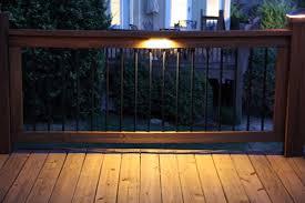 led deck rail lights. Led Under Rail Deck Lighting Photo Gallery Moonlight Decks Lights D