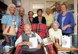 Celebrating: The 103rd birthday of Billy March   Dorset Echo