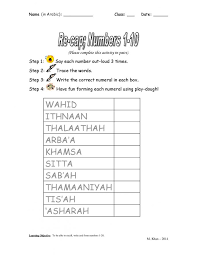 Kids : Worksheets For All Download And Share Free Number Line ...