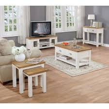 cream furniture living room. Unique Room Willow Farmhouse SideTable  Cream U0026amp  With Furniture Living Room
