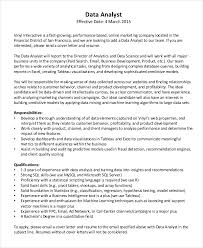 Data Analyst Cover Letter Resume Cv Cover Letter