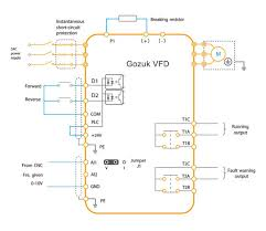 variable frequency drive digital inputs vfd wiring diagram