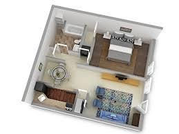 Superior One Bedroom Type 1