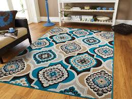image of frontgate peacock rug