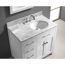 usa ine parkway 36 ms 2136l single sink bathroom vanity with regard to awesome household offset sink vanity plan