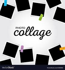 Template For Picture Collage Photo Collage Template