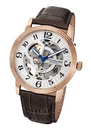 men s and women s stuhrling original skeleton watches