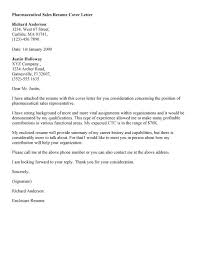 Cover Letter For Medical Sales Representative Sales Cover Letters