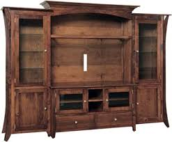 flat screen tv cabinet. Highlighting The Caledonia Flat Screen TV Unit Amish Furniture Within Tv Cabinet Inspirations 19 N