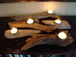 Image of: Photos of Driftwood Candle Holder