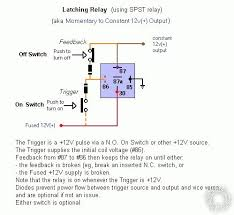 latched on off momentary w brake kill 12 Volt Latching Relay Diagram and there is still the previous \