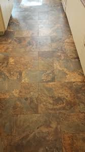 Cobblestone Kitchen Floor This Is A Modular Vinyl Tile From Armstrong Alterna The