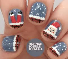 Tutorial Tuesday: Santa Got Stuck Up The Chimney (One Nail To Rule ...